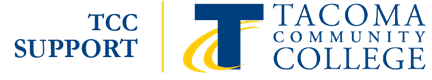 Tacoma Community College logo with link to home page